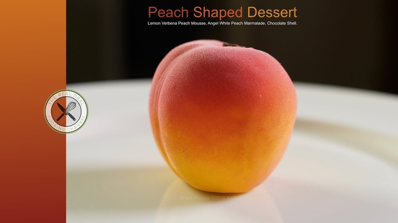 Peach Shaped Dessert – Bruno Albouze – The Real Deal