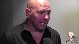 РЕАКЦИЯ ДАНЫ УАЙТА НА БОЙ ХАБИБ КОНОР И ПОТАСОВКУ ПОСЛЕ БОЯ НА UFC 229