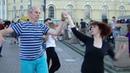 Дмитрий Суворов и Анна Безуглова - хастл на Стрелке В.О. 14.07.18 г.