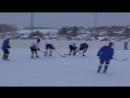 Хоккей Очерское ЛПУМГ 27.01.2017г ГКС против ФОК со счетом 6 - 1