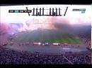 Delije vs Grobari okrsaj bakljama ( FK Crvena Zvezda - FK Partizan) 2015/2016