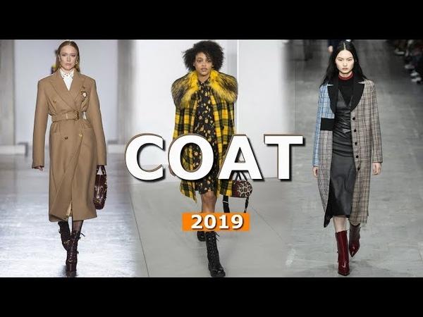 Fashion Coat fall-winter 2018/2019 🔴 Trends Lookbook