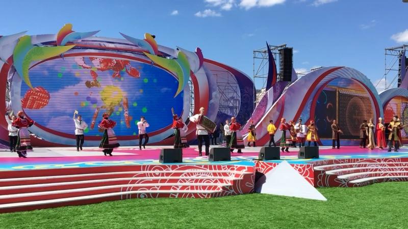 Генеральная репетиция в г.Астана к 1 мая