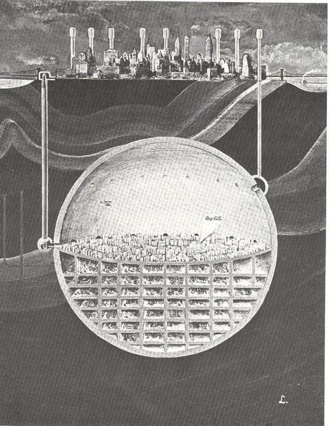 Изображение проeкта ядерно-безопасного Манхэттена под Нью-Йорком.
