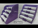 Escadinha de Doces Feito com Caixa de Creme Dental 💖