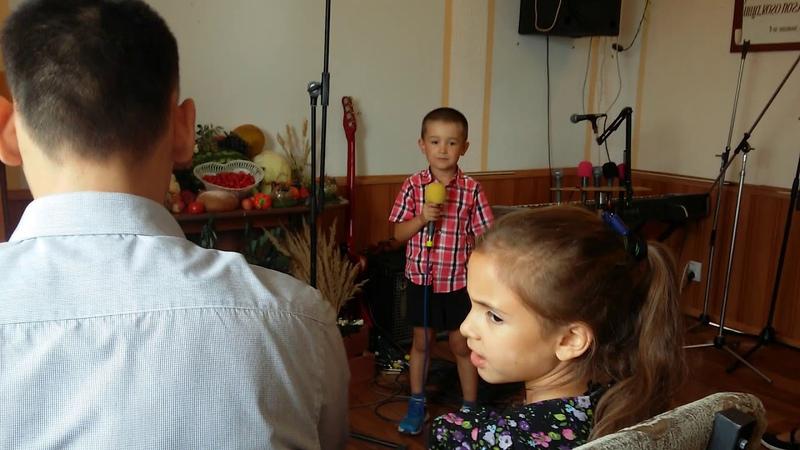 Церковь ЕХБ города Боброва - Бесплатный дар (Детская сценка на праздник жатвы)
