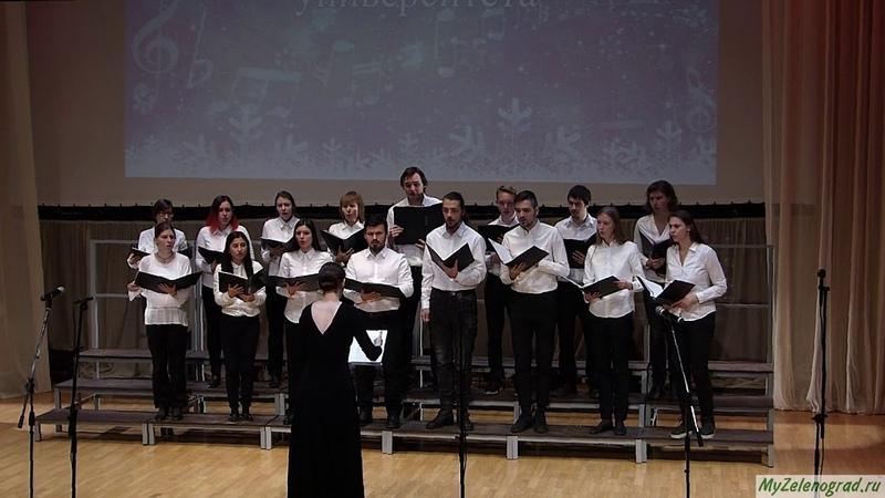 Ola Gjeilo Ubi Caritas. Исполняет Академический хор Московского политеха