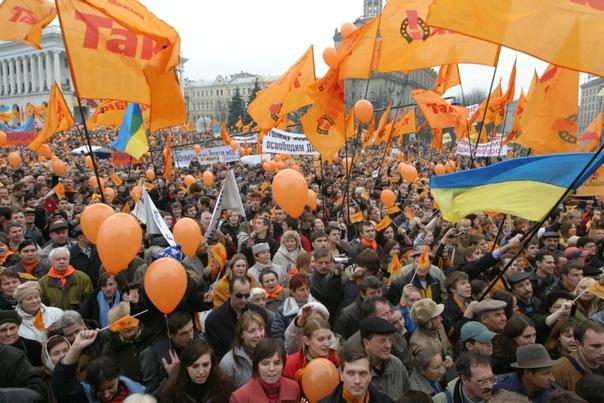 Оранжевая революция: предпосылки и следствие