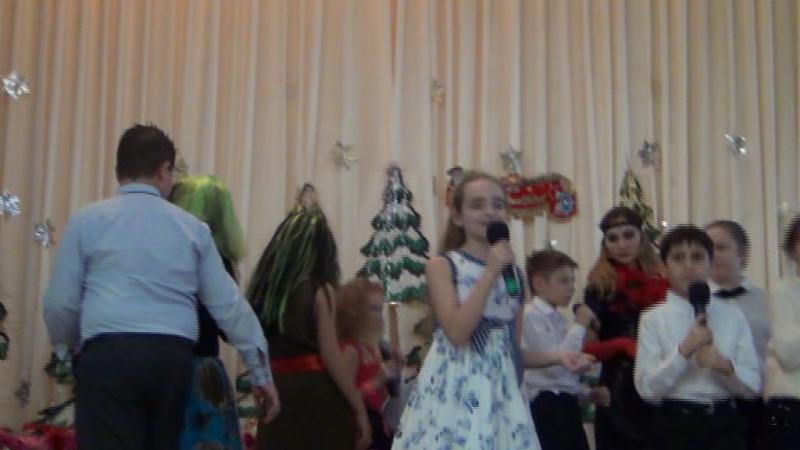 ВИДЕО_Новый год 2016-17 в Школе Эрудит-2_часть2