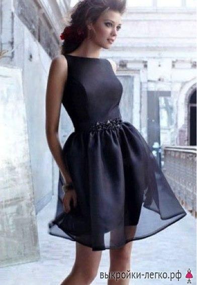 Шьем вечернее платье (8 фото) - картинка