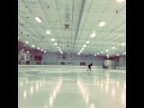 Hours of solitude for a moment to shine. 🌟 @ The Pond Ice Arena and Performance Center http://instagram.com/p/pjtch7hher/