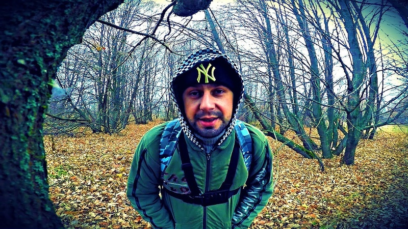 Одиночный пеший поход поздней осенью | Трудовая рыбалка | Сезон ЗАКРЫТ | Мордовские Будни
