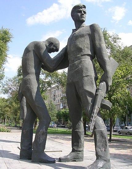 Памятник Комсомольцам Волгоград
