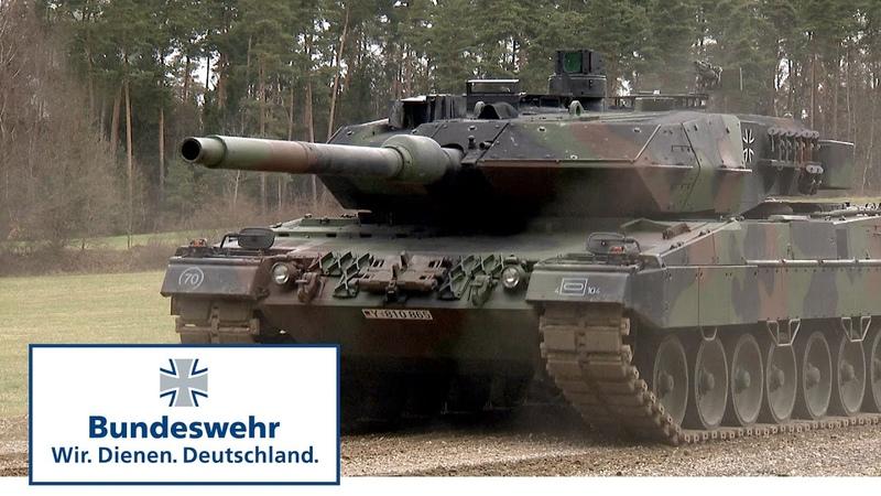 Kampfpanzer Leopard 2A6 Legende auf Ketten Bundeswehr