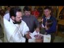 Таинство Крещения Одесса 2018г
