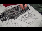 Beyond the Brick GIANT LEGO Star Destroyer with Full Interior! Custom Star Wars
