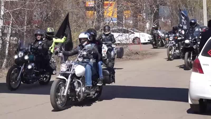 Открытие мотосезона Иркутск 2019. Брутальные сибирские байкеры и драйвовый монгольский рок - это что то