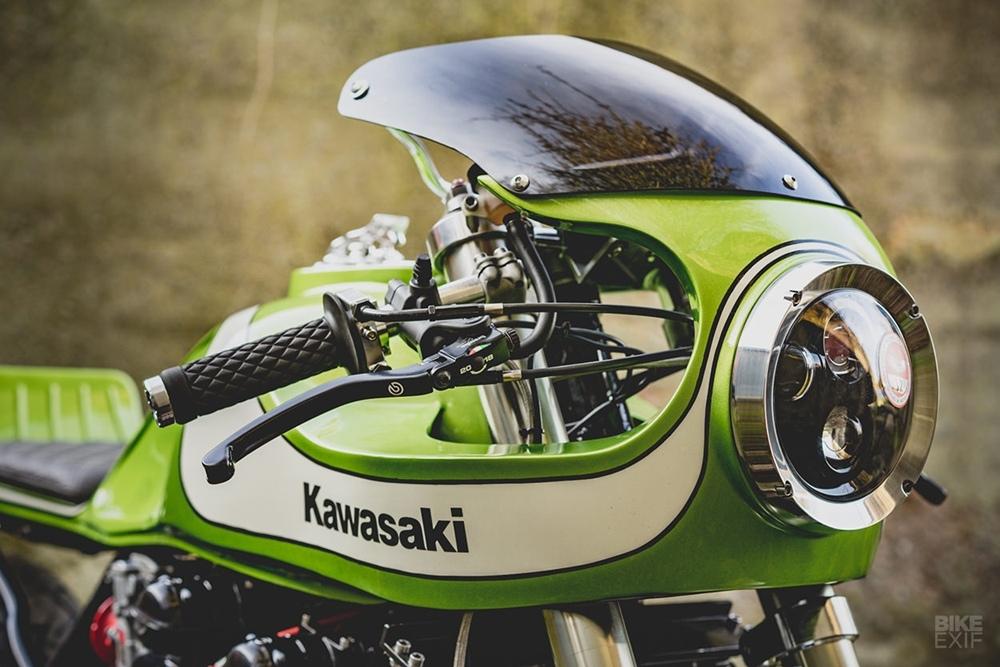 November Customs: кастом Kawasaki Zephyr 750