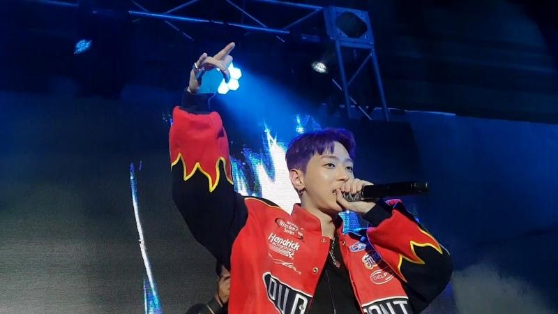 Simon Dominic, Gray, Loco - We Are / 181027 Halloween Redmoon: Seoul Fashion Festival 2018