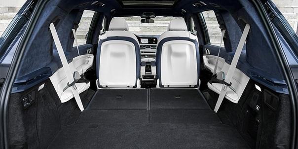 BMW показала новый X7 в России.