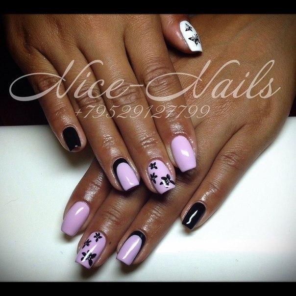Шикарные дизайн ногтей