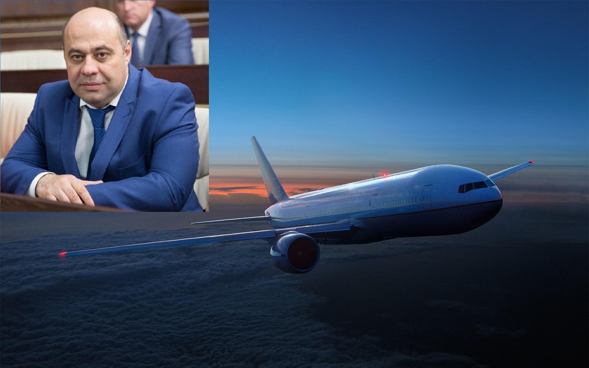 Профессионализм министра здравоохранения КЧР помог избежать экстренной посадки самолета