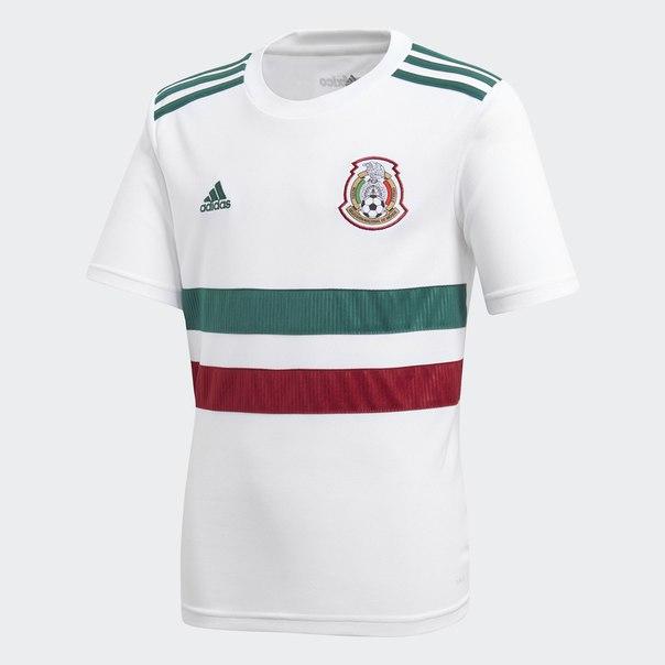 Гостевая игровая футболка сборной Мексики