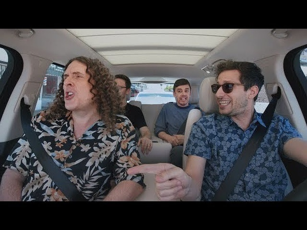 """The Apple TV app — Carpool Karaoke The Series — """"Weird Al Yankovic and The Lonely Island — Preview"""