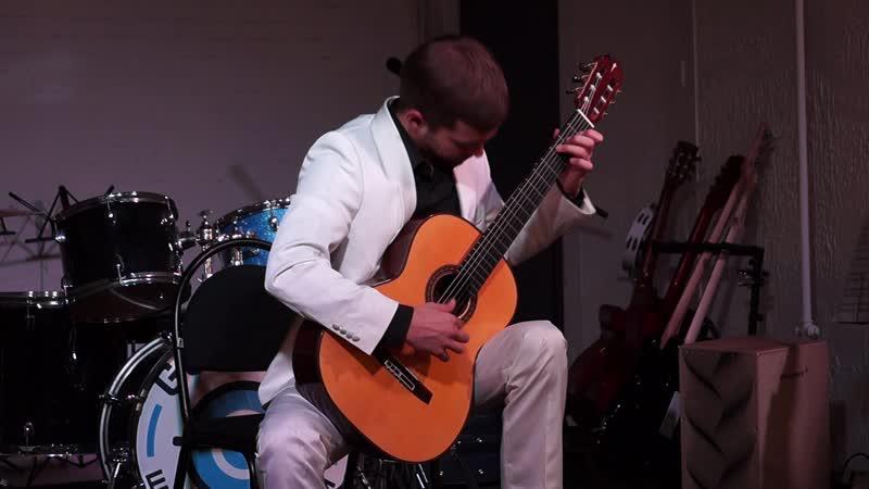 04Н. Паганини - Соната для гитары - в исполнении Никиты Неделько