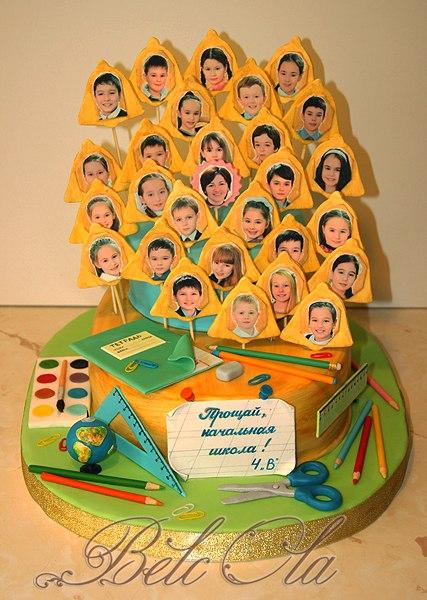 Торт на выпускной вечер прощай