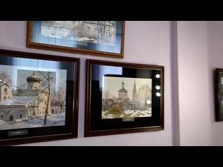 Выставка Сергея Андрияки в Липецке 2019