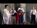 Live Pagan Ceremony in Armenian Pagan Temple