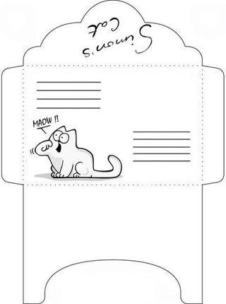 конверты руками распечатать своими шаблоны