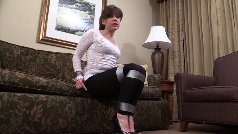 Babysitter playing duct tape games, she didn`t expect the boys was god in this (HD 1920p)