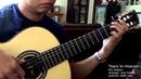 Tears In Heaven - E. Clapton (arr. Jose Valdez) Solo Classical Guitar