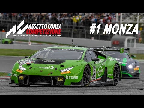 1,5 ЧАСА МОНЦЫ! Blancpain GT Series! Assetto Corsa Competizione - LIVE