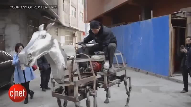 Японская лошадь робот