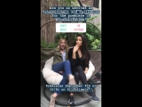 Shay Mitchell & Elizabeth Lail on YOU's Instagram Story (14 августа 2018)