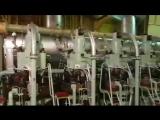 2-тактный дизельный двигатель Sulzer 7RTA84C на борту Nora Maersk