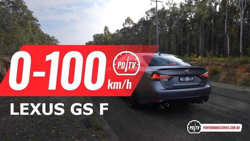 2018 Lexus GS F 10th Anniversary Edition 0-100kmh engine sound