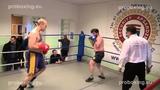 Olegs Lopajevs 90,0 kg. VS Dmitrijs Avsejenkovs 84,9 kg. 10.01.2015 proboxing.eu