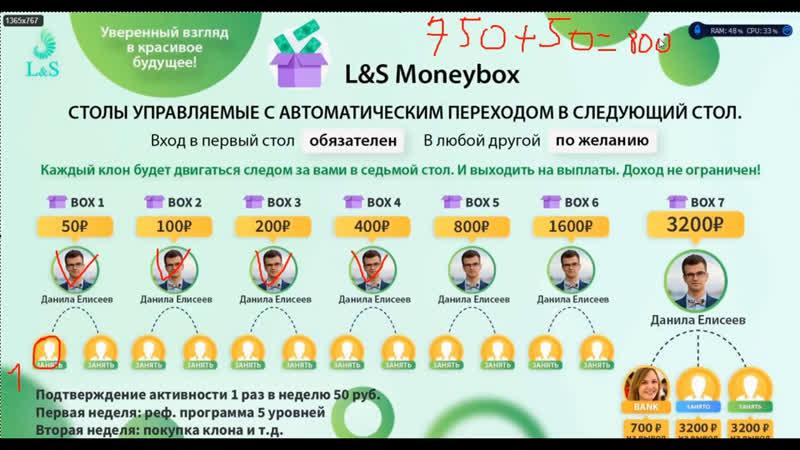 Отзыв о программе Moneybox от LS Club заработал 87000р и как правильно работать. Смотри до конца !