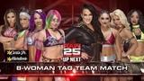 WWE RAW25 Sasha Banks,Bayley,Mickie James &amp Asuka vs Nia Jax,Alicia Fox,Mandy Rose &amp Sonya Deville