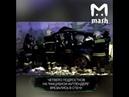 Жуткая авария машина с подростками влетела в стену в Москве