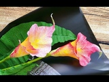 ABC TV How To Make Calla Lily Paper Bouquet Flower From Crepe Paper #1 - Craft Tutorial
