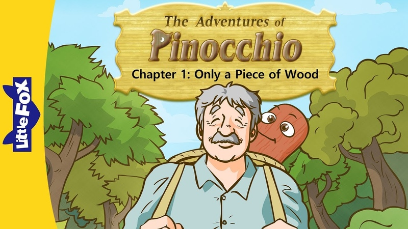 Pinocchio 1 | Only a Piece of Wood | Classics | Little Fox | Animated Stories for Kids