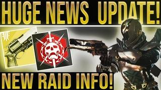 Destiny 2 Forsaken. RAID BOSS & RANDOM ROLLS! New NPC's, Year 1 Gun Mods, Gambit Power Level & More!
