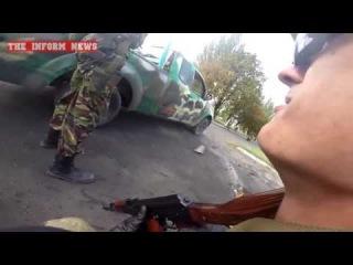 Уникальные кадры боевых действий в Марьинке с бойцами батальона