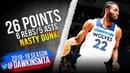Andrew Wiggins Full Highlights 2018.12.05 TWolves vs Hornets - 26 Pts, NASTY DUNK! | FreeDawkins