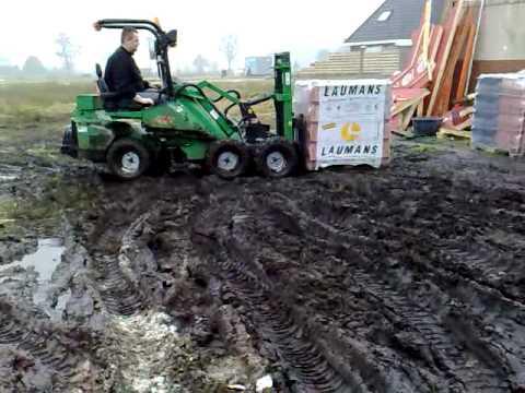 Shovel middelveld machines